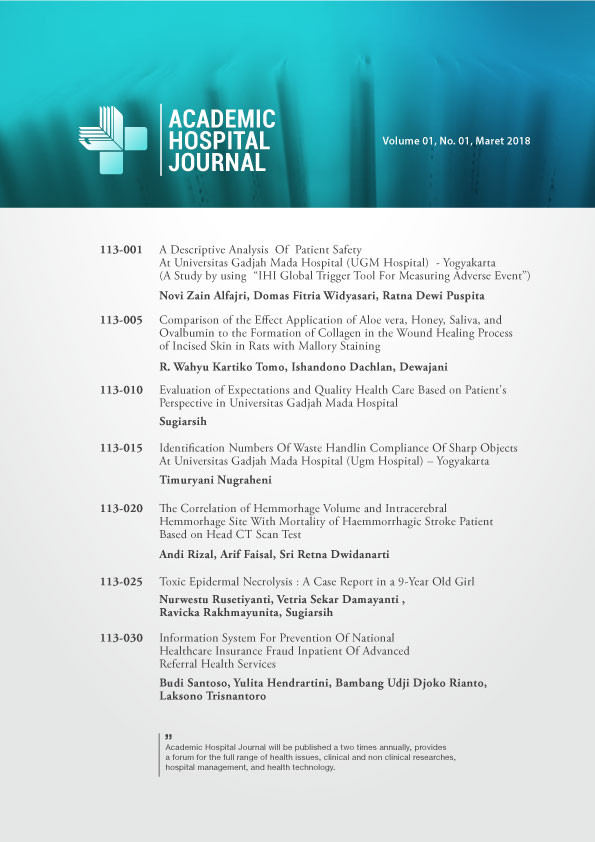 Academic Hospital Journal