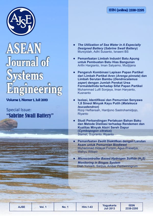 AJSE, Vol.1, No.1, Hlm. 1-43